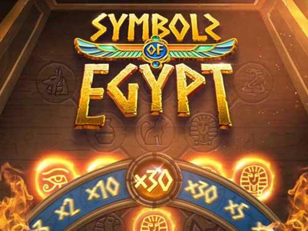 ทดลองเล่น Symbols of Egypt PG168
