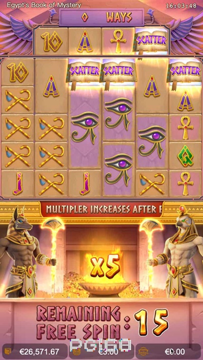 รีวิวเกม Egypt's Book of Mystery
