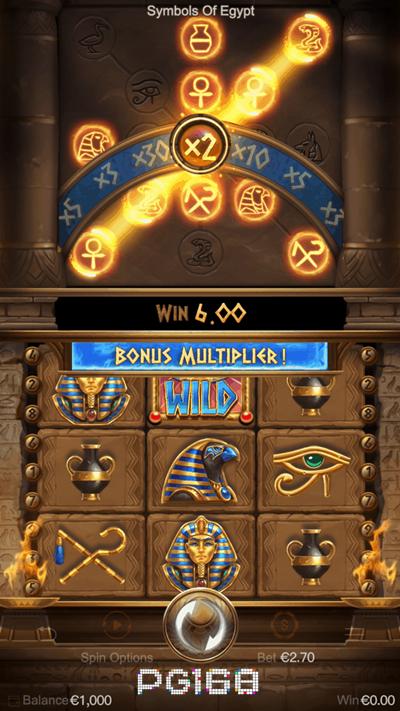 รีวิวเกม Symbols of Egypt
