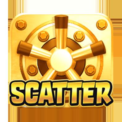 เกม Heist Stakes Scatter